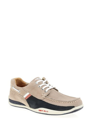 %100 Deri Marine Ayakkabı-Greyder